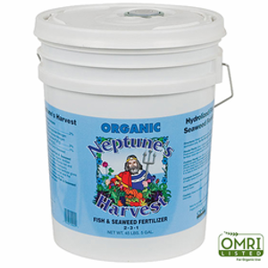 Fish and Seaweed Fertilizer 2 – 3 – 1 Five Gallons
