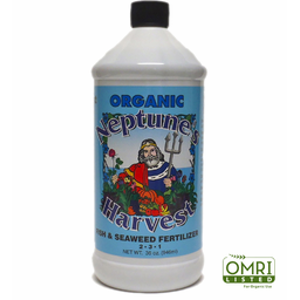 Fish and Seaweed Fertilizer 2 – 3 – 1 One Quart