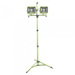 6000 Lumen Dual-Head LED Work Light with Tripod