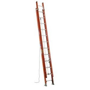 Fiberglass D-Rung Extension Ladder
