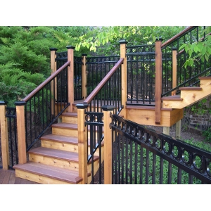 Fortress Railing Iron Railing