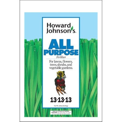 Howard Johnsons All Purpose Fertilizer, 13-13-13