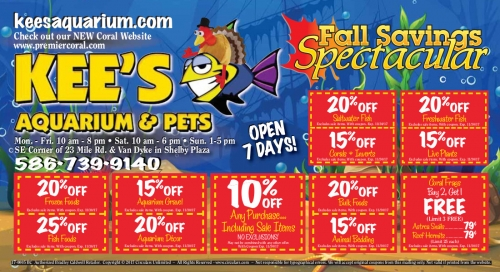 Fall Savings Spectacular