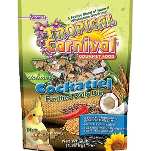 TROPICAL CARNIVAL NATURAL COCKATIEL