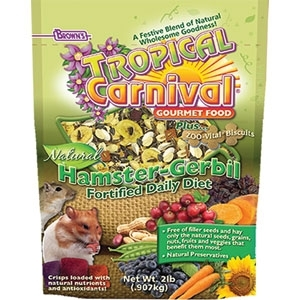 TROPICAL CARNIVAL NATURAL HAMSTER AND GERBIL