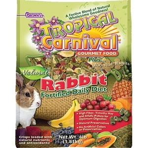 TROPICAL CARNIVAL NATURAL RABBIT