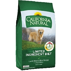 Lamb Meal & Rice Recipe Adult Dog Food Large Bites