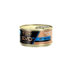 EVO 95 Duck Recipe in Gravy Canned Cat Food