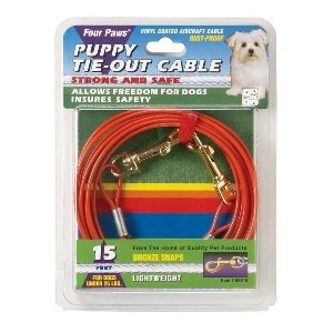 Four Paws Puppy Tie Out Cable