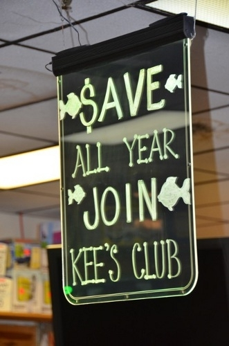 Join our club and save!