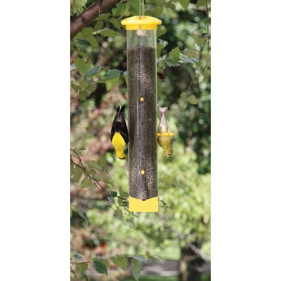 Tails Up Upside Down Gold Finch Feeder
