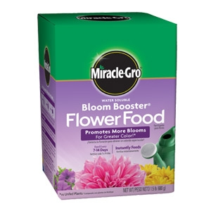 Miracle-Gro® Water Soluable Bloom Booster Flower Food