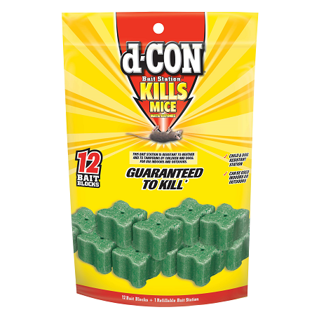 d-CON® Refillable Corner Fit Bait Stations
