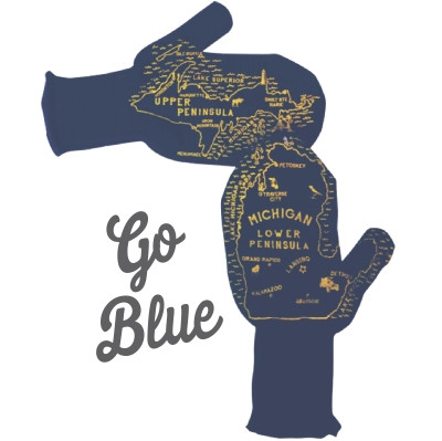 Michigan Mittens - Assorted Colors