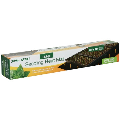 Jump Start Hot House with Seedling Heat Mat, 72-Cells