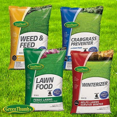 Green Thumb 4 Season Lawn Fertilizer Program