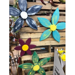 Wooden Handmade Flowers