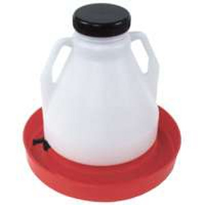 Brower 4 Gallon Poly Poultry Fountain