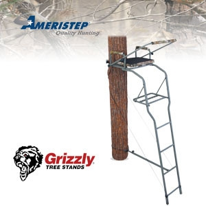 The 16' Gunner Ladder Stand