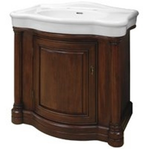Wingate Cherry Vanity With China Top