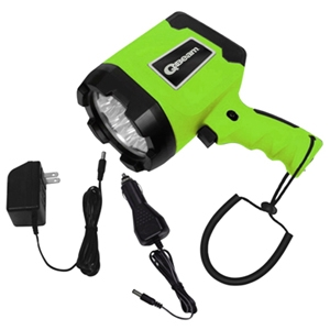 12 LED AC & DC Rechargeable Spotlight
