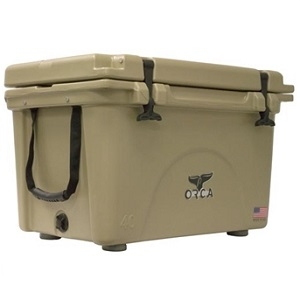 Orca 40 Quart Cooler, Tan