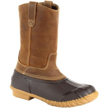 Georgia Marshland Unisex Pull-On Duck Boot