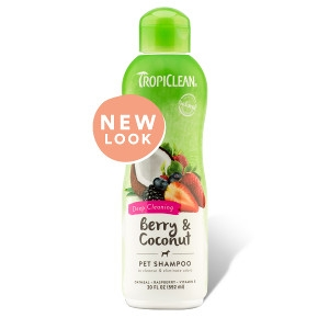 Tropiclean Berry and Coconut Shampoo