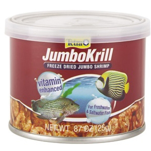 JumboKrill Color Enhancing Fish Food Treats 3.5 oz.