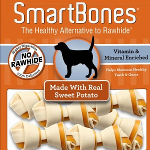 Sweet Potato Classic Bone Chews- Large 3pk