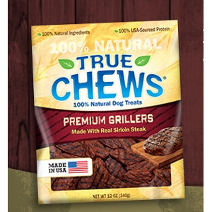 True Chews® Premium Grillers Treats - Sirloin Steak