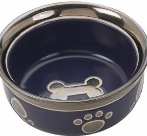 Ritz Copper Rim 5″ Dog Dish
