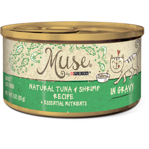 Muse® Natural Tuna & Shrimp Recipe