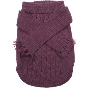 Dog Scarf Sweater by Fashion Pet