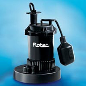Flotech 1/3hp Submersible Sump Pump