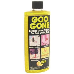Goo Gone GG12 Multi-Purpose Cleaner, 8 Oz Bottle, Yellow Liquid