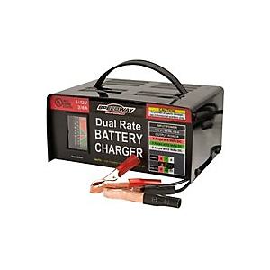 North American Tool Speedway 6/12 Volt Dual Rate Battery Charger