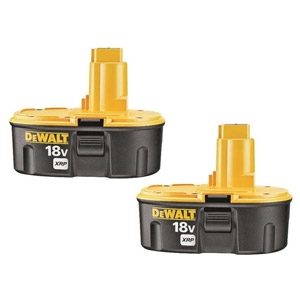 Dewalt® 18-Volt Cordless Rechargeable XRP Battery 2-Pack