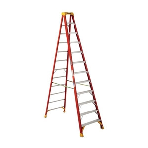 12-Ft. Type I A Fiberglass Stepladder