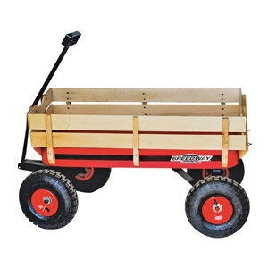 Speedway® Big Wagon Toy With Wood Panels