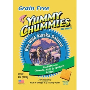 YUMMY CHUMMIES SALMON AND VEGETABLE- GRAIN FREE
