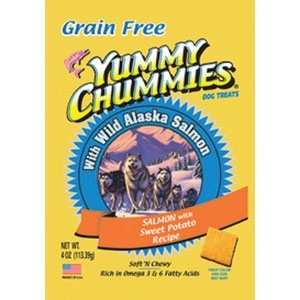 YUMMY CHUMMIES SALMON AND SWEET POTATO- GRAIN FREE
