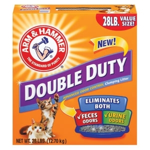 Arm & Hammer Double Duty Clump Litter 28Lb