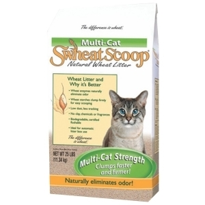 Swheat Scoop Multi Cat Litter 25 Pound