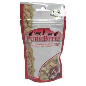 Purebites Chck Breast Cat .60Oz