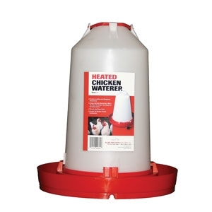 Heated Chicken Waterer 3.3 gal.