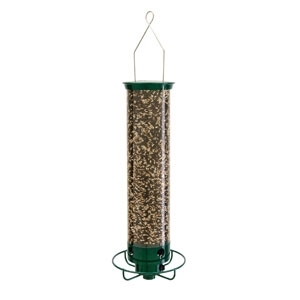 Yankee Flipper Squirrel Proof Bird Feeder Green 21""