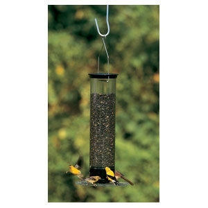 Yankee Tipper Squirrel Proof Bird feeder Black 21""