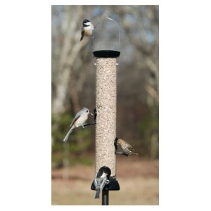 Onyx Clever Clean Sunflower Feeder Black/18 In.