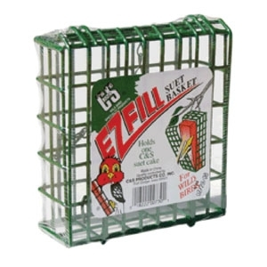 Ez Fill Suet Basket Green